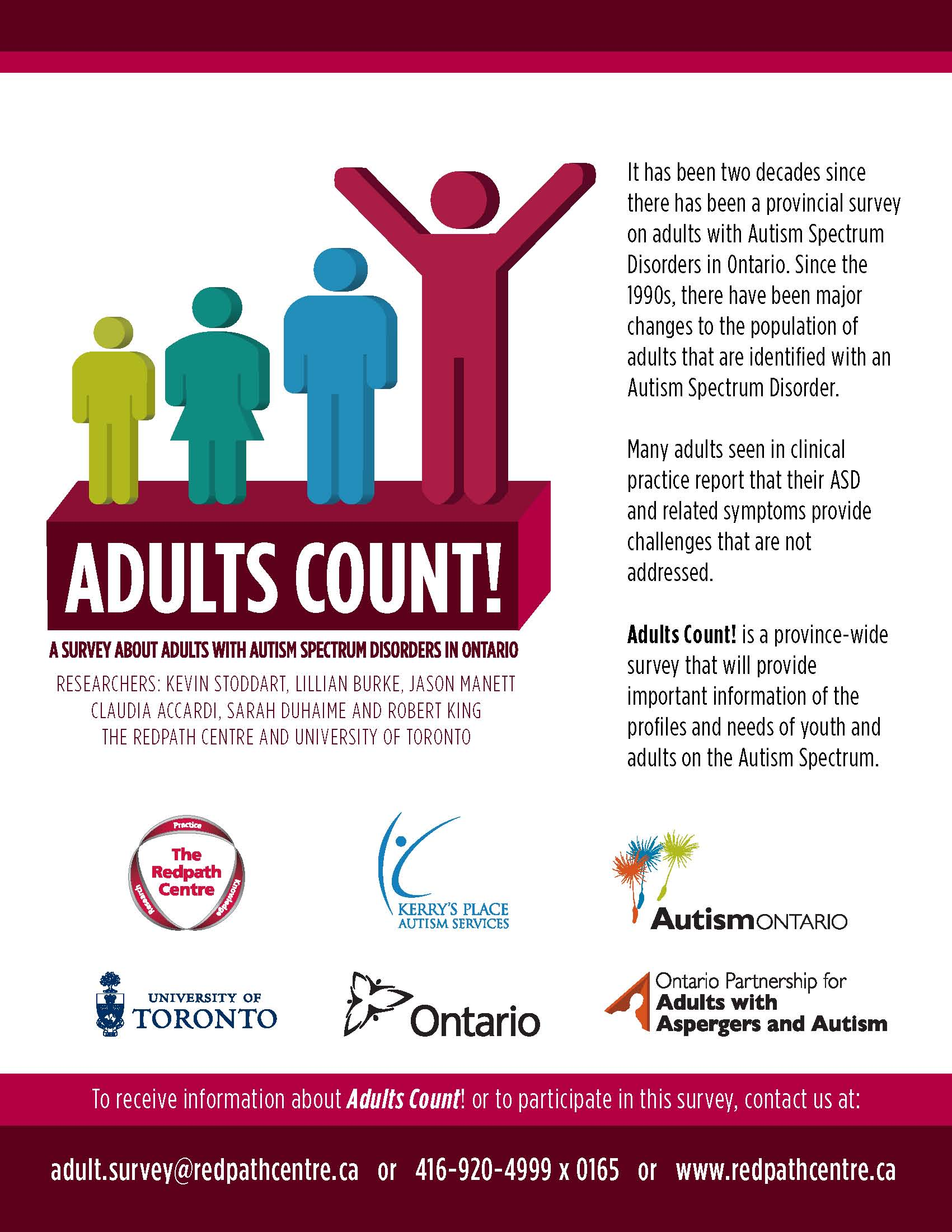 I am requesting your participation in Adults Count! A survey on Youth and ...